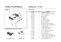 Interactive 3D PDF with bill of materials and snapshots