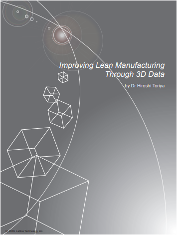 Improving Lean Manufacturing through 3d data