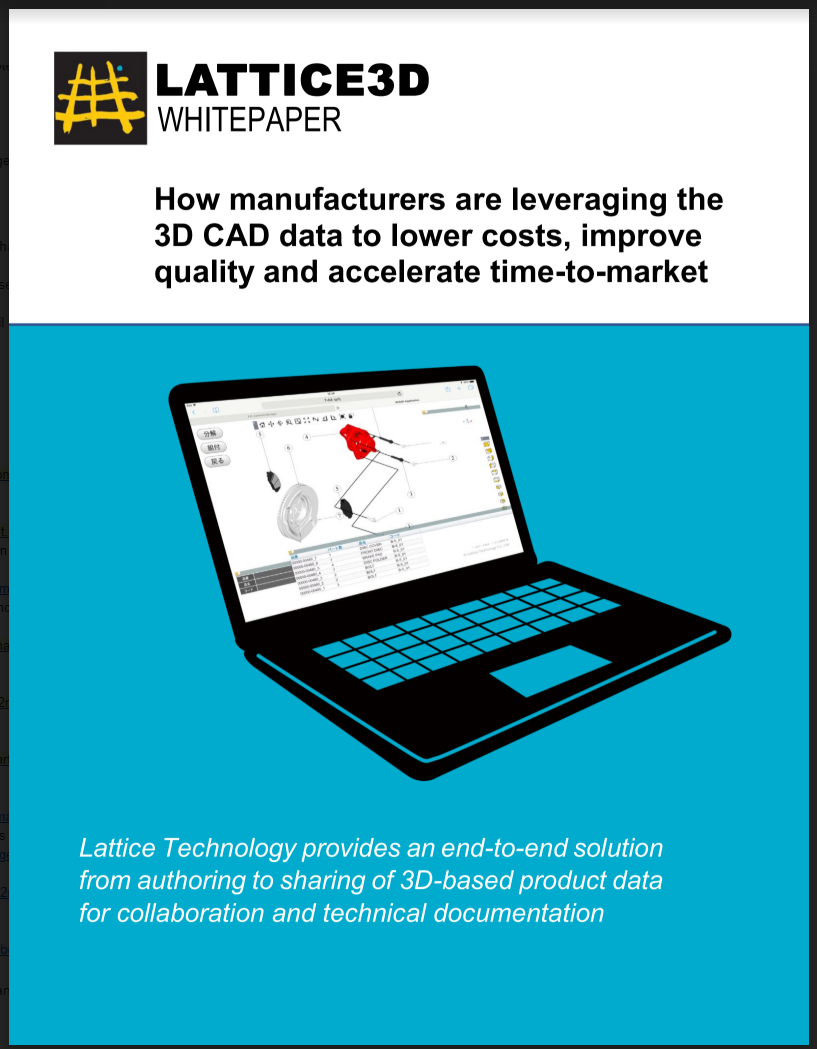 XVL Whitepaper for Manufacturing Assembly Processes
